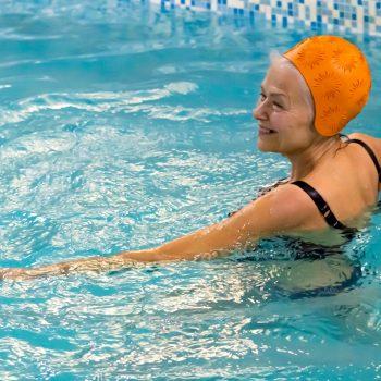 Terapia acuática para mayores